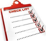 Create Checklists that work for you real estate investing rule