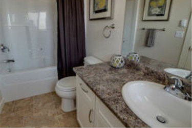 photo of bathroom in The Hudson Townhomes