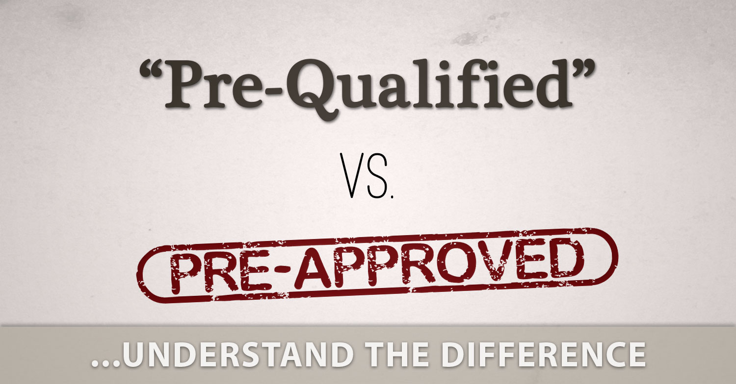 mortgage prequalification vs  preapproval