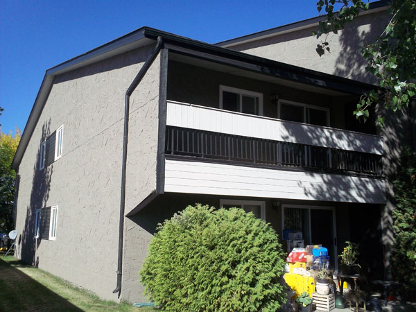 photo of the balcony and patio of The Plaza, Cold Lake, Alberta
