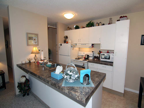 photo of kitchen in Willow Estates