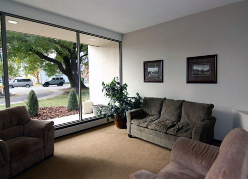 photo of living room in Willow Estates