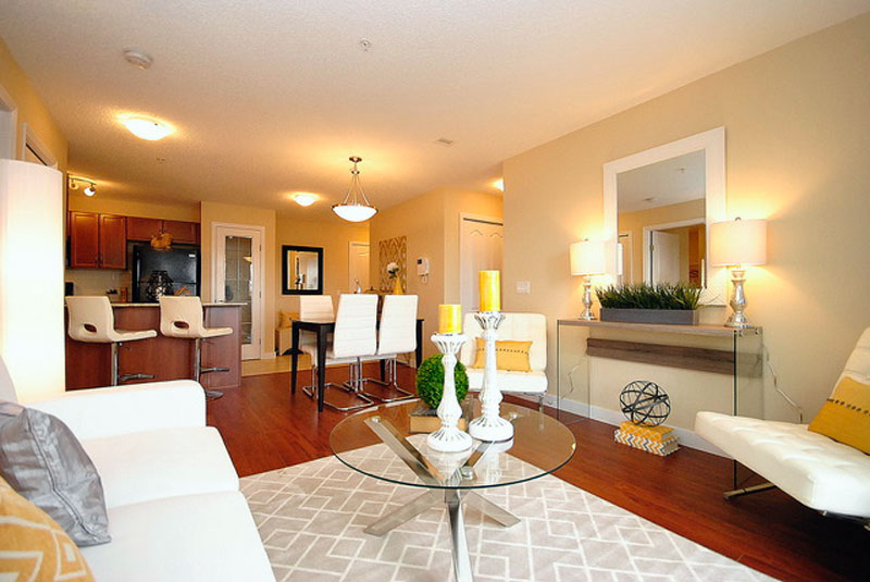 Solara Living and Dining Areas